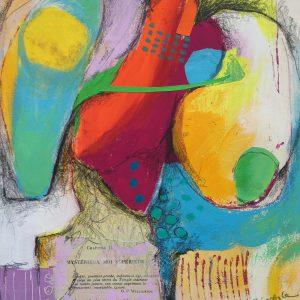 Caught Between, Abstract, Harriet Brigdale, Artist