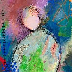 Letter in Mind 2016, Abstract, Harriet Brigdale, Artist