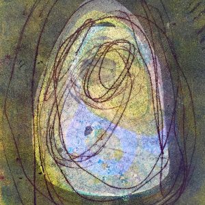 Light into grey, Abstract, Harriet Brigdale, Artist