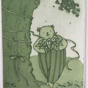 Just waiting for you, Harriet Brigdale, etching