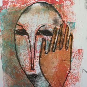 Now you see me, masks, Harriet Brigdale, Artist