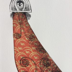 Dream weaver, litho, Harriet Brigdale, Artist