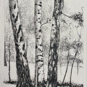 Three graces, litho, Harriet Brigdale, Artist