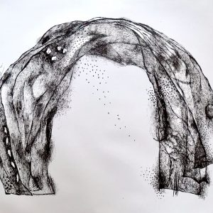 The Arch, print by Harriet Brigdale