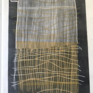 weaving. lino