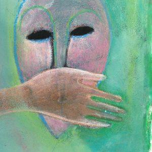No speech, Drawing, Harriet Brigdale, Artist