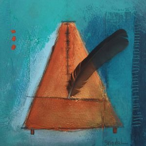Metronome, Abstract, Harriet Brigdale, Artist