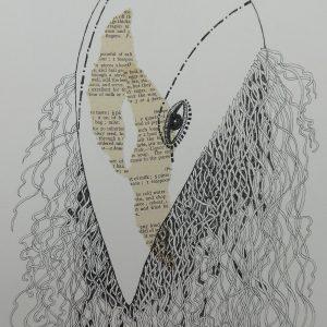 Bird Mask, Harriet Brigdale, Artist