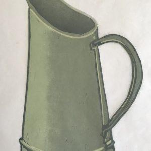 green jug. lino