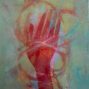 The red hand, Masks, Harriet Brigdale, Artist