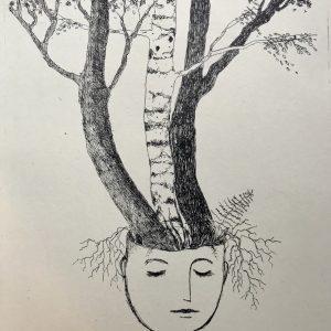 tree base. Litho